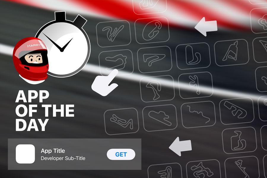 Infografik Laptimer Startscreen