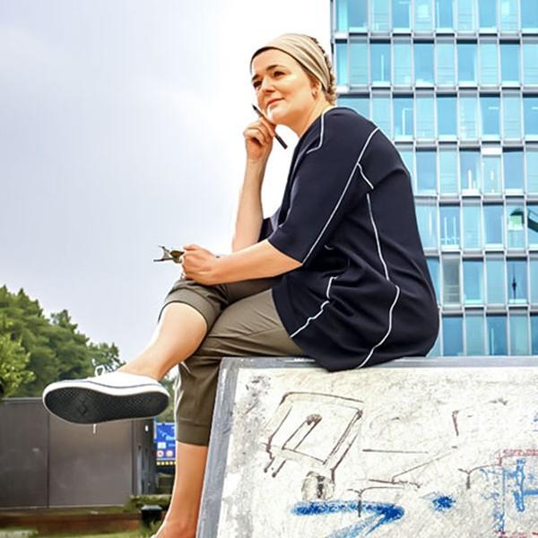 Portrait Petra Bähner Mobile
