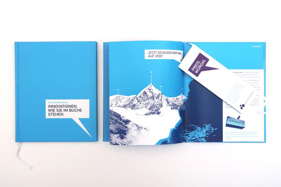 Ornamin Innovationsbuch Uebersicht