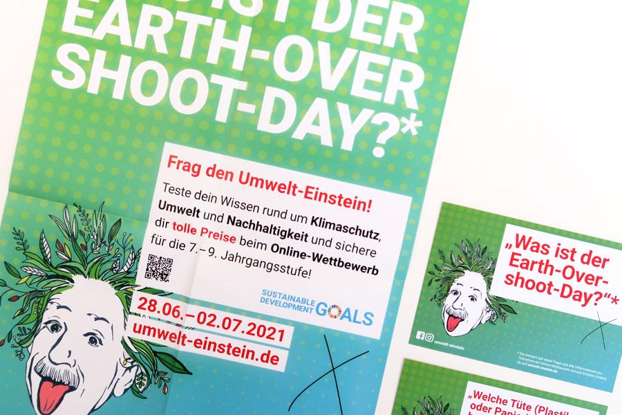 Umwelteinstein Plakat