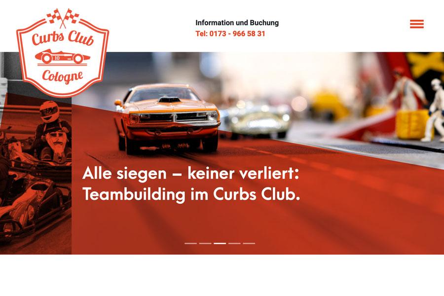 Web Curbsclub Start