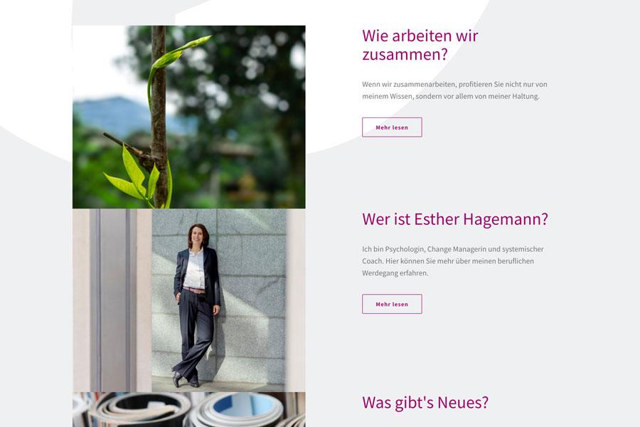 Web Estherhagemann Infoblock