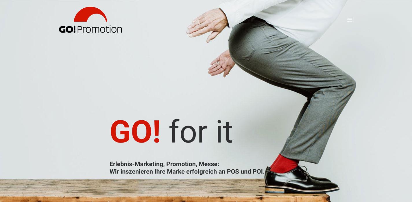 Web Go! Promotion Header